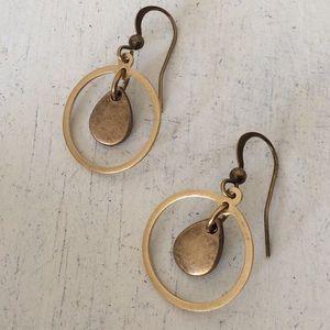 NEW Boho Brass Earrings / Free People Catalog